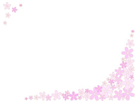 Cherry Blossom Frame 4