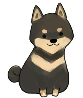 Shiba Inu (black)