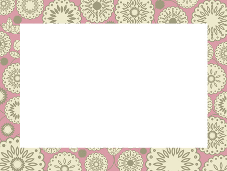 植物圖案框架9
