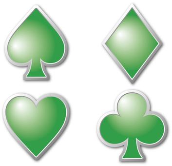 標記(綠色)