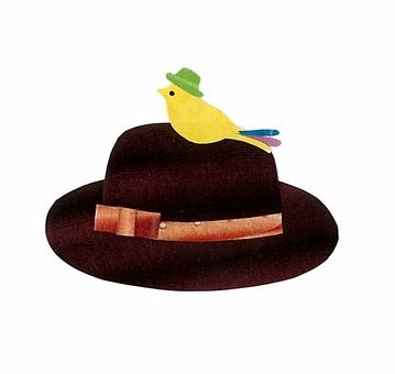 작은 새와 모자