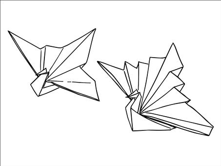 Celebration crane (origami)