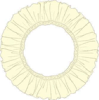 Frill's circle (yellow)
