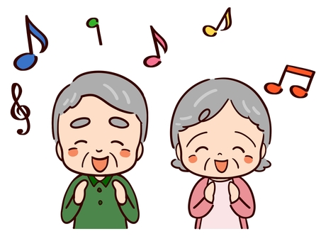 Singing Elderly