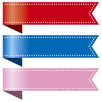 Bookmark of ribbon 2