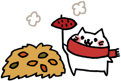 Grilled sweet cat