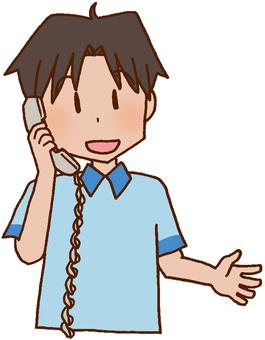 [Rehabilitation] Telephone contact / information sharing / cooperation