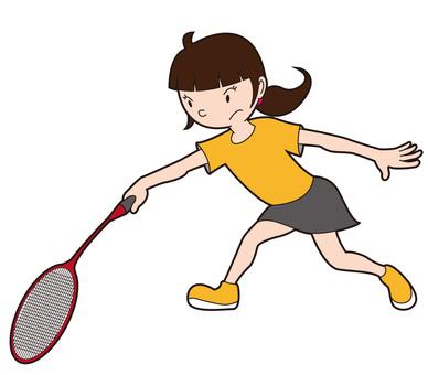 Badminton Women's Backhand