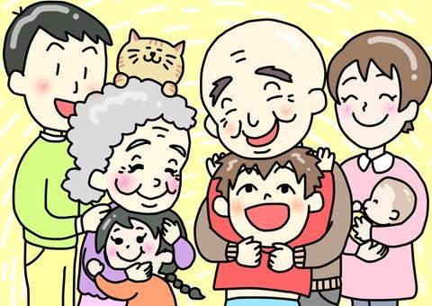 Descendants of the family