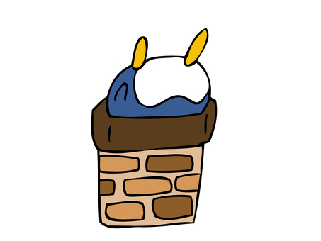 Penguin that fits in the chimney
