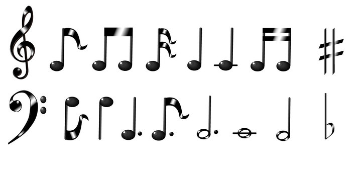 Musical Note - Material