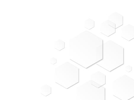 Hexagon White
