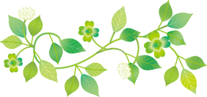 식물 장식