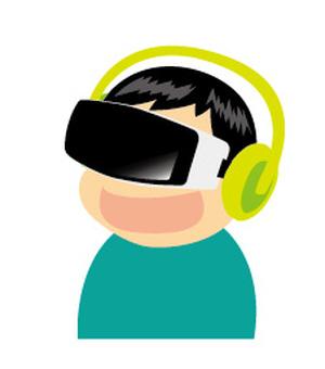 VR boy experiencing-E & LG