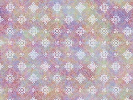 Fantastic color lace wallpaper