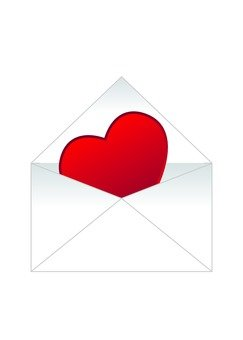 Heart and Envelope