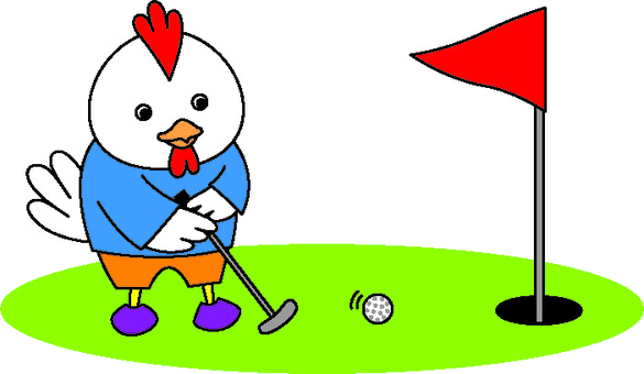 Chickens and Golf 1