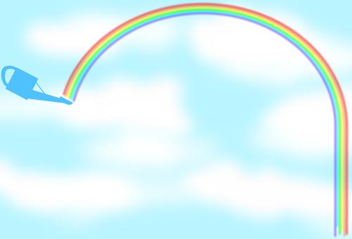 Jouro and rainbow