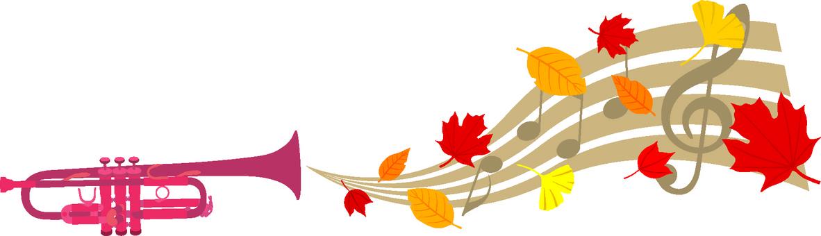 Autumn trumpet