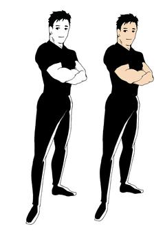 Jim trainer style man