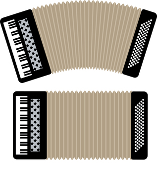 아코디언 악기 반주 음악