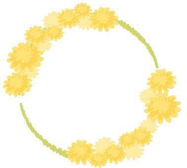Spring dandelion wheel 01