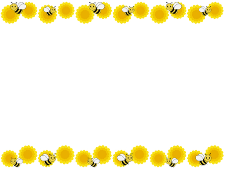 Honey bee frame 3