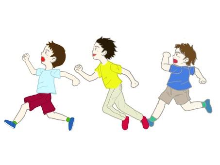 Three people to run.