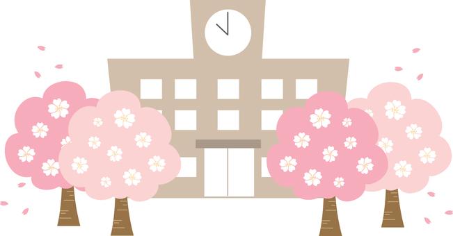 【Building】 school spring