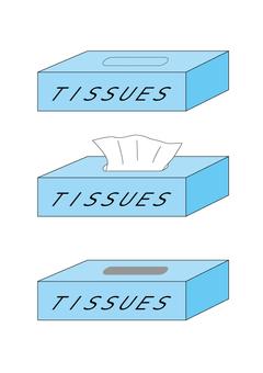3 types of box tissue