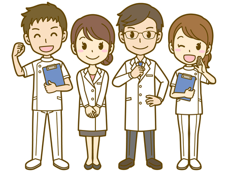 Medical staff: Doctor and nurse 01FS