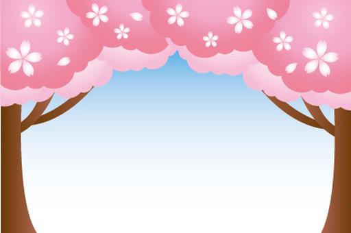 Cherry tree frame