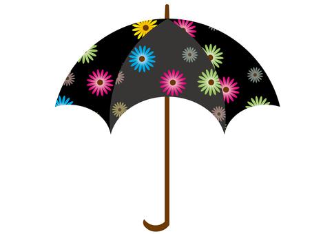 Floral umbrella 2