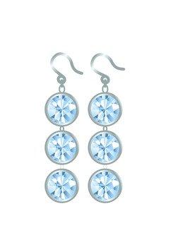 Trilogy earrings