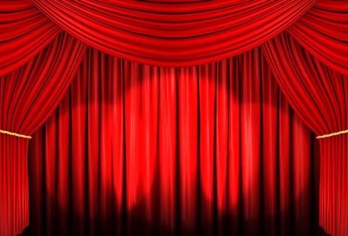 Red Curtain 04 Spotlight