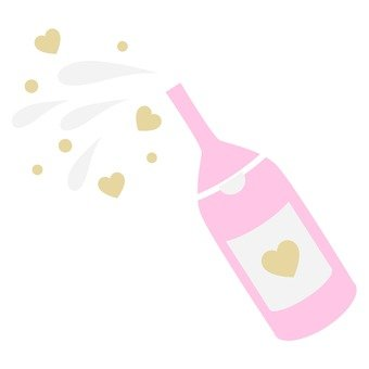 Heart's champagne