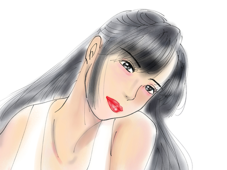 Beauty sketch