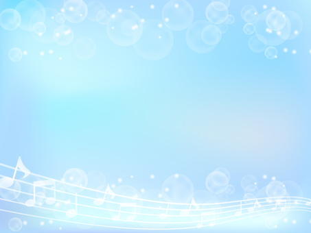 Musical note and light background 4