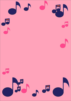 Music frame A 4