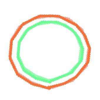 A round frame