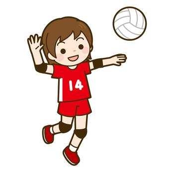 Volleyball (Girls) Attack