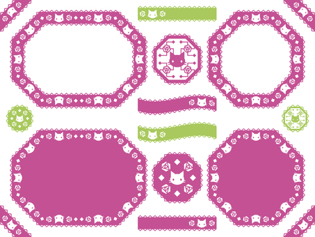 Cat and Rose Pattern 41