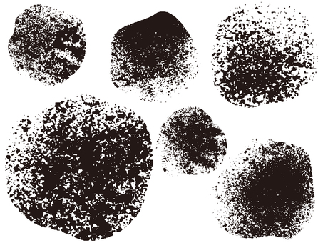 Particle circle _ black _ cs