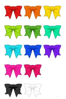 Ribbon 13 color set