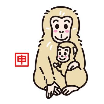간지 신 원숭이