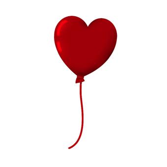 Valentine's Heart type balloon ④