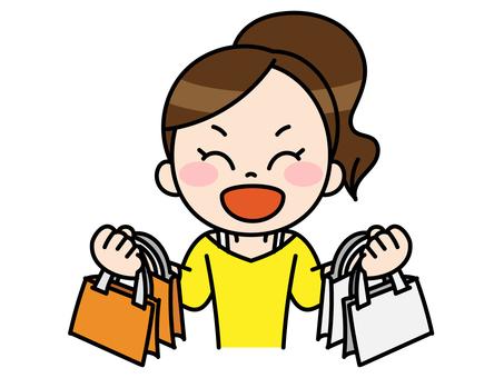 Shopping lots women