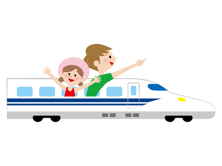 Children on the Shinkansen
