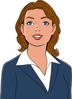 미국 만화 터치의 여성 8