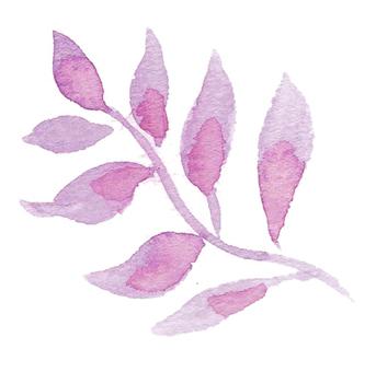 葉-ピンク